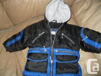Boys CLIMATE CONTROL winter jacket / with hood size 3T