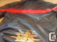 New jacket , scooby doo rain & snow repellent with