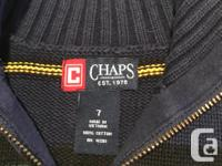 All branded items from non smoking home Chaps Sweater
