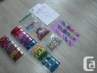 I got a brand new set of material for making bracelet