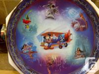 "Bradford Exchange Collectible Plates ""Walt Disney"