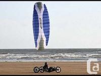 4-line Foil kites $150 2.0m Go Fly a Kite (name brand)