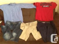 Brand Name Men's Clothing Gently Used as Shown  Tommy
