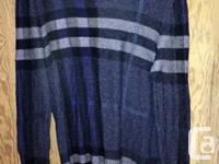 - Burberry Striped Sweater (Size L) - Emmanuel Ungardo
