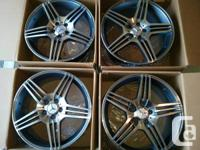 "Brand new 19"" AMG style replica rims for Mercedes. Two"