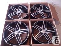 "Brand new 20"" AMG style replica rims for Mercedes E, S,"