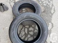 Brand new full set of 5 tires from a new vehicle for