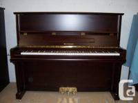 "BRAND NEW 52"" BECKNER 131-HM PROF. UPRIGHT PIANO. MADE"