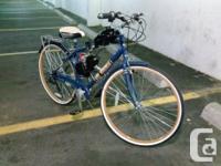 """Brand new 80cc gas engine powered """"Huffy"""" cruiser bike,"""