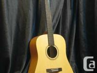 New Ayers acoustic-electric guitar, Model DS