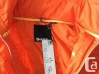 brand new bright colored BENCH wind breaker. Never
