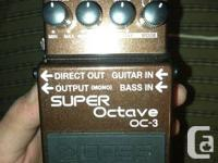 Brand New still in the box Boss OC3 Super Octave for