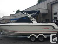 This brand new Boston Whaler Vantage is loaded with