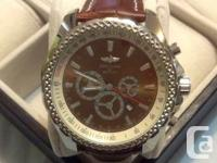 BRAND NEW BREITLING WATCH FOR MAN   STAINLESS STEEL