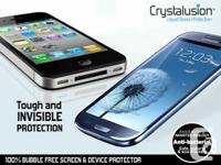 Crystalusion Liquid Glass is a futuristic and effective