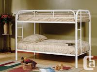Brand New in Box - Single over Single Metal Bunk Bed