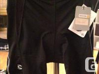 Never worn Cannondale Surpass padded cycling shorts