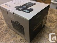 Brand New Canon EOS 6D 20.2 megapixel full-frame DSLR