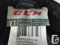 For sale. CCM hockey elbow pads. Junior size medium