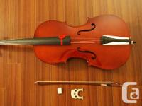 Brand new Cello- Come with a Brand new soft Case. bow
