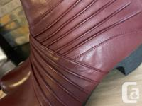 Brand new Cobb Hill by Rockport Brynn merlot leather