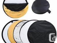 Brand new  disc reflector 5 in 1 (original package,