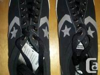 One pair of Converse Star Player (PLYR) black EV OX