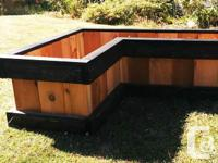 Due to customer demand, I have added a new planter box