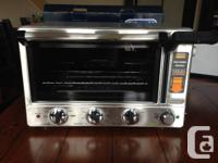 Brand new never used. This versatile and unique toaster