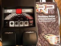 Have a brand new Digitech RP70 Guitar Processor. $95 +