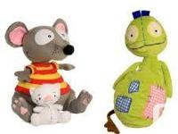 New TOOPY And BINOO And  PATCHY PATCH Set Plush Soft
