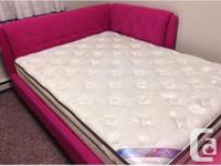 Both bed and mattress brand new-not like new ,brand