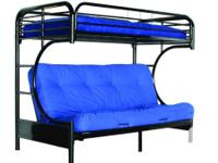 Brand New All Metal futon Bunk Bed in Box, Single top