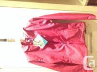 Brand New Girl Pink XMTF jacket (with tags) Size 14