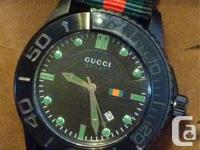 GUCCI SPORT WATCH  ***BRAND NEW***   Stainless steel