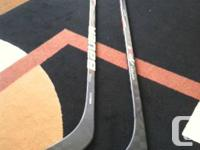 I have 2 brand new Bauer Hockey Sticks for sale. I am