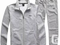 Brand New with tags... GREY HUGO BOSS tracksuit for