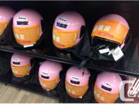 Brand new in the box Motorcycle helmets. All DOT