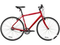 This red Desire Men's/Unisex bike from MEC was won from