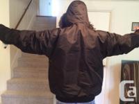 Brand New J. Whistler Men's Winter Jacket Size: XL