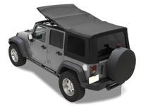 Brand new soft top kit for Jeep Wrangler 4 door.