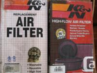 These are the good reusable K&N units. 33-2059 fits