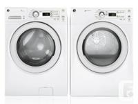 BRAND NEW KING SIZE 4.2 Q.FT WASHER AND DRYER SET   NEW