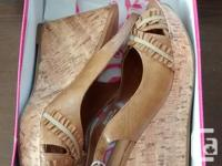 Brand New- Ladies Gorgeous Beige DLG Shoes in excellent