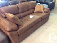 Brand new sofa And Rocking recliner set...$1250 taxes