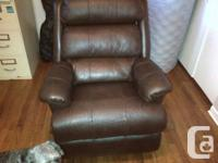 Bought this beautiful reclining leather LazyBoy