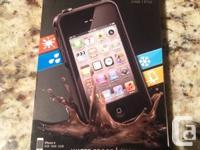 Brand new (still in box) iPhone case for iPhone 4/4s.