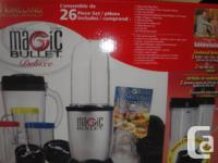Selling Brand New Magic Bullet Deluxe 26 Piece Set