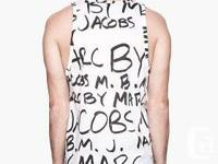 THIS IS BRAND NEW MARC JACOBS NEON PRINT JERSEY TANK