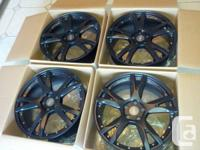 "Brand new 19"" matt black Audi replica rims for Audi and"